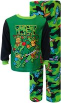 AME Sleepwear Teenage Mutant Ninja Turtle Camo Fleece Toddler Pajama Set for boys