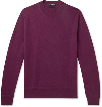 Tom Ford Cashmere Sweater - Men - Purple