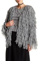Tularosa Bardot Tassel Fringe Jacket