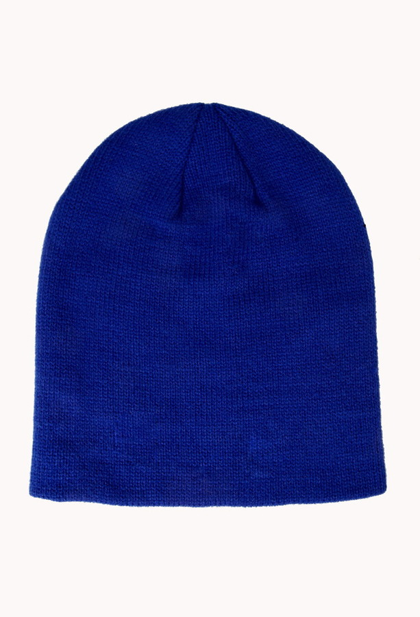 Forever 21 Iconic Slouchy Knit Beanie