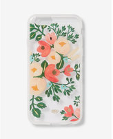 Express rifle paper co. clear peach blossom iphone 6/6S case