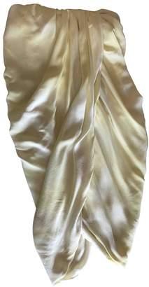 Thakoon Yellow Silk Dresses