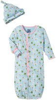 Kickee Pants Ruffle Gown & Hat Set (Baby) - Pond Strawberry-6-12M