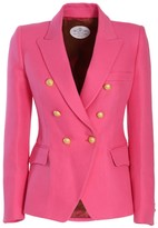Chloé The Extreme Collection Classic Pink Crossed Blazer