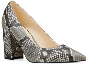 Nine West Cara Block-Heel Pumps Women's Shoes