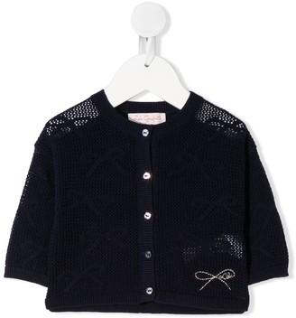 Lili Gaufrette Knitted Cardigan