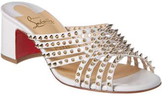 Christian Louboutin Marthaspike 55 Leather Sandal