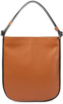 Marni Marcel Knot Medium leather shoulder bag