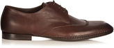 Bottega Veneta Square-toe leather derby shoes