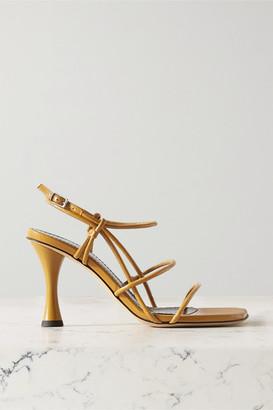 Proenza Schouler Leather Sandals - Saffron