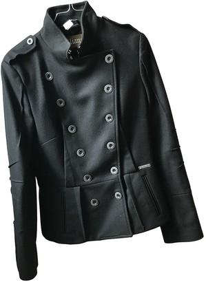 Galliano Black Wool Jacket for Women