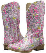 Roper All Over Glitter and Lace Square Toe (Toddler/Little Kid)