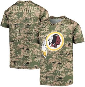 Redskins Outerstuff Youth Camo Washington Alpha Sublimated Dri-Tek T-Shirt