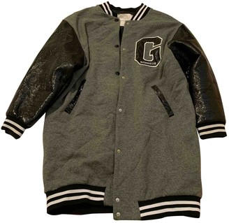 Gaelle Bonheur Grey Cotton Jacket for Women