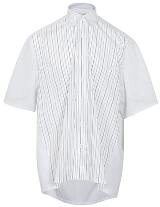 Givenchy Stripe pocket short sleeve shirt