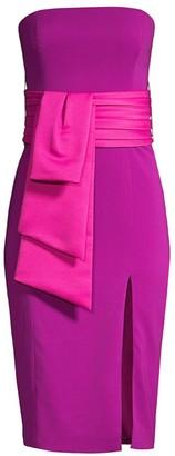 Jay Godfrey Kia Strapless Sheath Dress