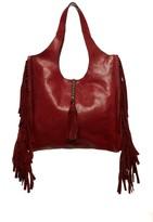 Frye Farrah Fringe Leather Shoulder Bag