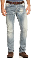 Buffalo David Bitton Men's Six Slim Straight Fit Jeans
