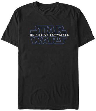 Fifth Sun Episode 9 The Rise Of Skywalker Logo Mens Crew Neck Short Sleeve Star Wars Graphic T-Shirt