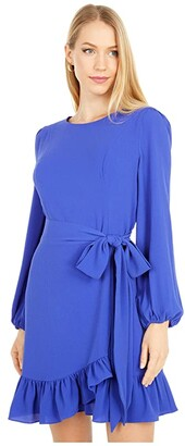 Lilly Pulitzer Laren Stretch Dress (Galaxy Blue) Women's Dress