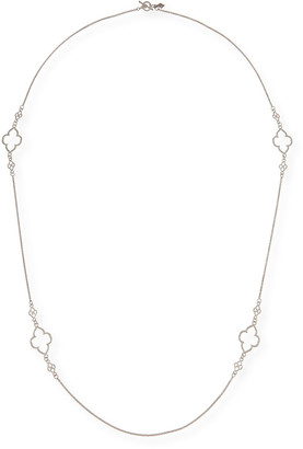 """Armenta New World Scroll Station Necklace, 36"""""""