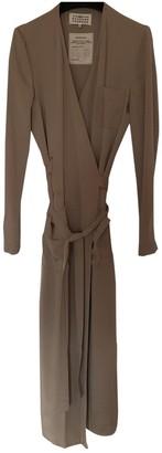 Maison Margiela Beige Silk Dresses