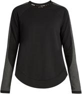 The Upside Kelela cotton-blend performance sweatshirt