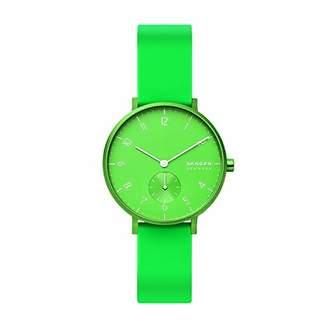 Skagen Unisex Adult Analogue Quartz Watch with Silicone Strap SKW2819