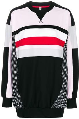 NO KA 'OI Oversized Colour Block Sweatshirt