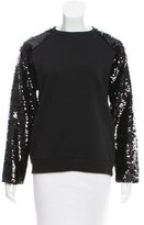 Giamba Sequin-Accented Sweatshirt w/ Tags