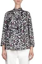 Acne Studios Floral Silk Blouse