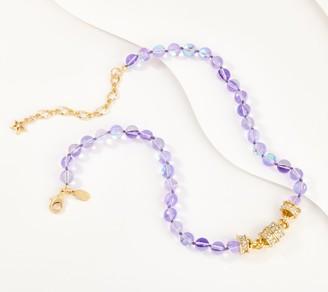 Kirks Folly Purple Ocean Mist Bubble Magnetic Necklace