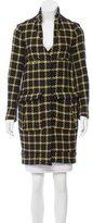 Marni Wool Houndstooth Coat