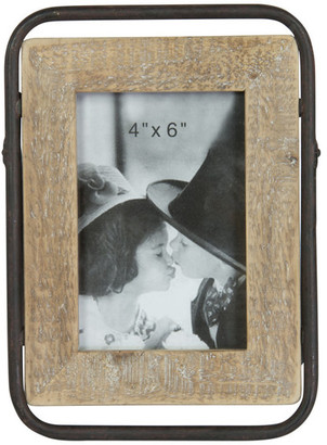 "American Mercantile Wood Photo Frame, 4""x6"""