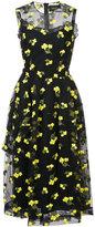 Simone Rocha embroidered flower dress