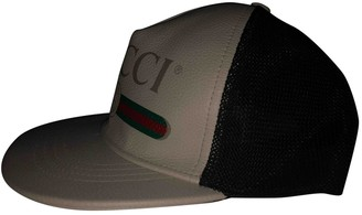 Gucci Beige Leather Hats & pull on hats
