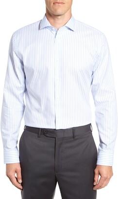 1901 Trim Fit Stripe Dress Shirt