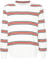 TOMORROWLAND striped crew neck sweater