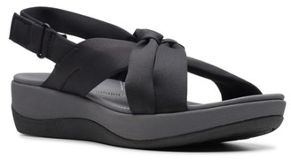 Clarks Cloudsteppers By Arla Belle Wedge Sandal
