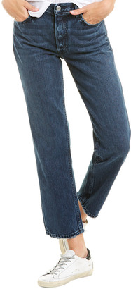 GRLFRND Helena Evening Star High-Rise Straight Leg