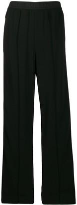 Karl Lagerfeld Paris Wide-Leg Snap Trousers