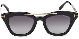 Tom Ford 49MM Square Sunglasses