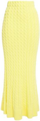 Ronny Kobo Cable-knit Maxi Skirt