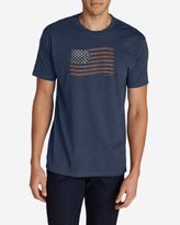 Eddie Bauer Men's Graphic T-Shirt - Classic Flag