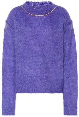 Maison Margiela Mohair-blend sweater