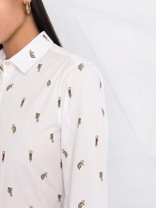 Paul Smith Tiger-Print Shirt