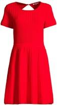 Parker Hamilton Cutout Knit Flare Dress