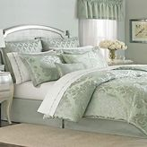 Martha Stewart Regal Damask Euro Sham Aqua Green Seafoam