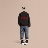 Burberry Graphic Jacquard Cashmere Sweater