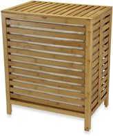 Household Essentials Natural Bamboo Hamper